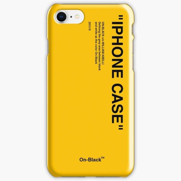 Designer case. YELLOW iPhone Snap Case