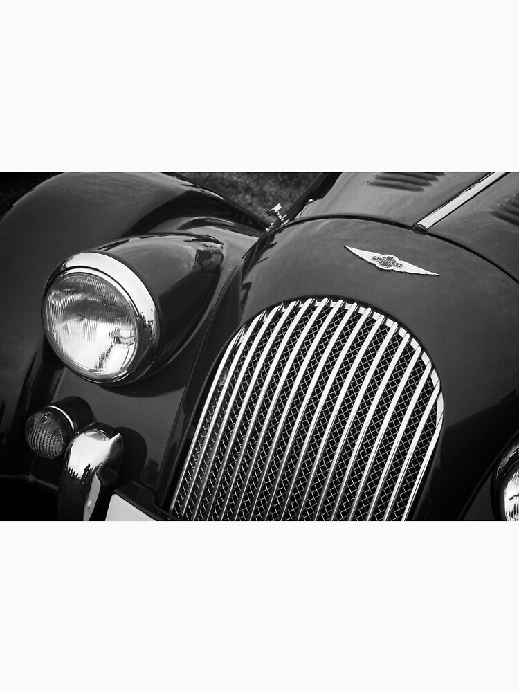 Morgan Sports Car Front Detail by robcole