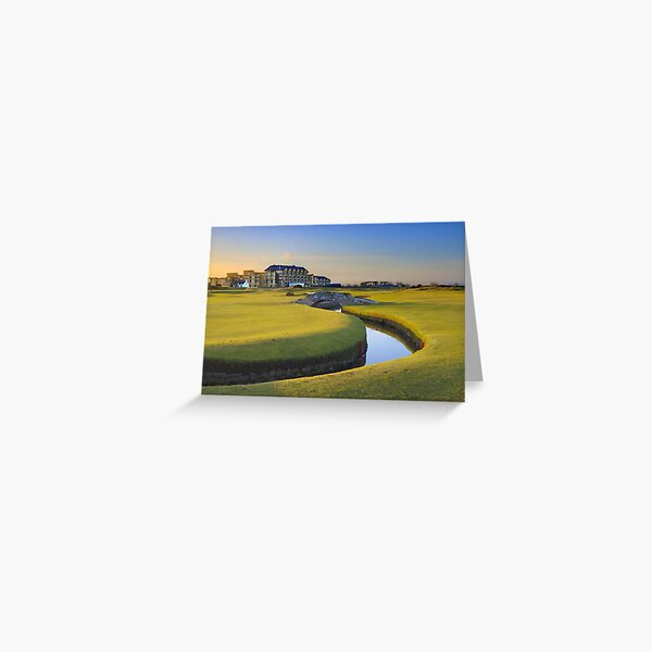 Old Course St Andrews Greeting Card