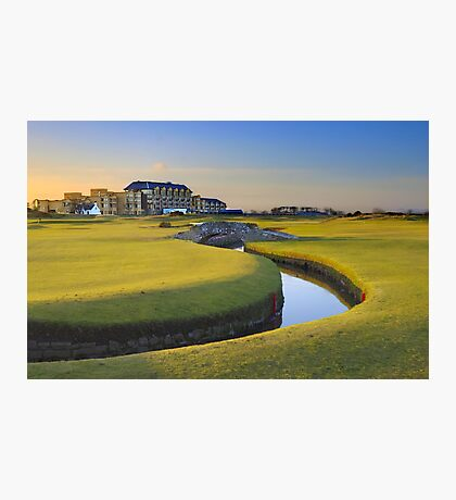Old Course St Andrews Photographic Print