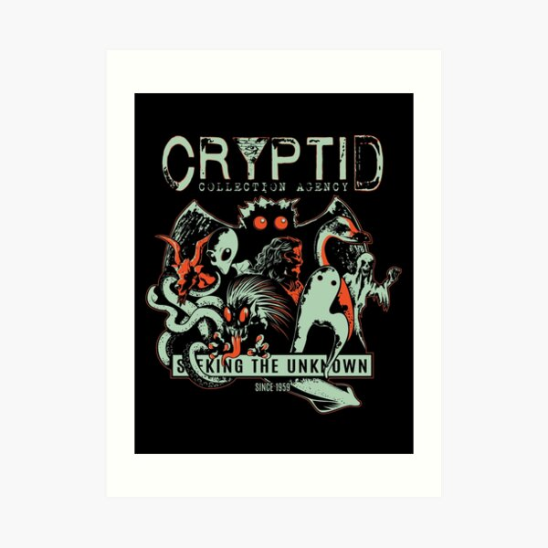 Cryptid Collections Art Print