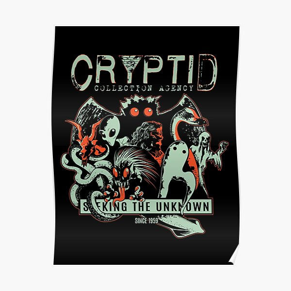 Cryptid Collections Poster
