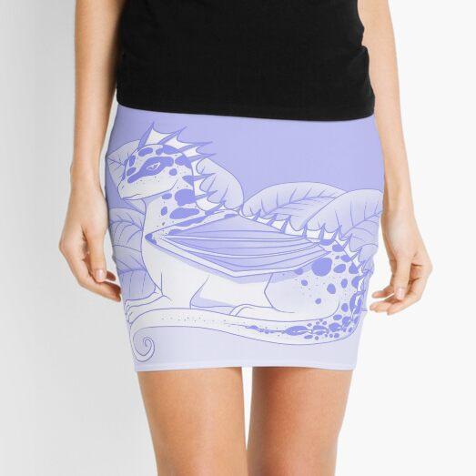 Poisonous Dragon (Purple Palette) Mini Skirt
