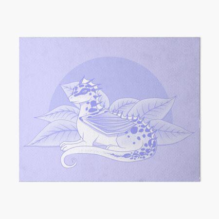 Poisonous Dragon (Purple Palette) Art Board Print