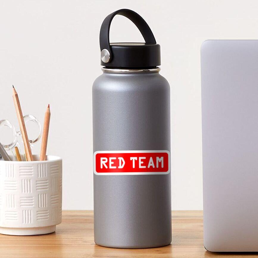 Red Team Offensive Hacker Sticker