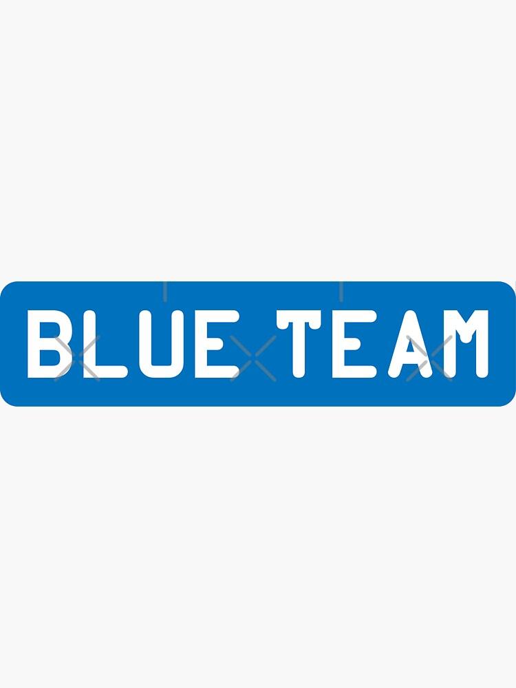 Blue Team by adidabu