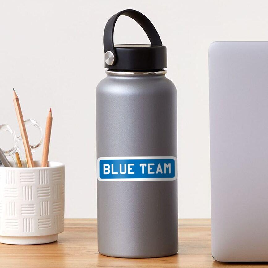 Blue Team Sticker