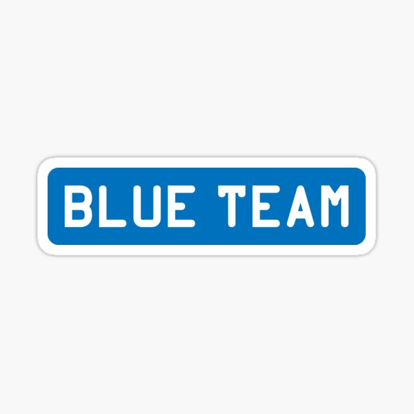 Blue Team Sticker