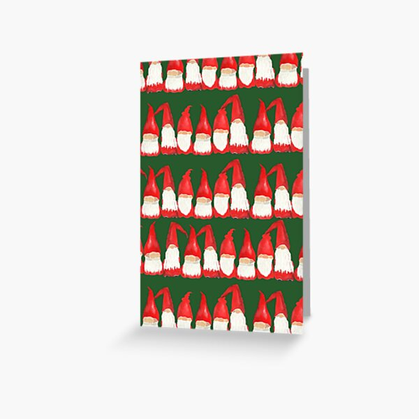 Wall of Gnome Greeting Card