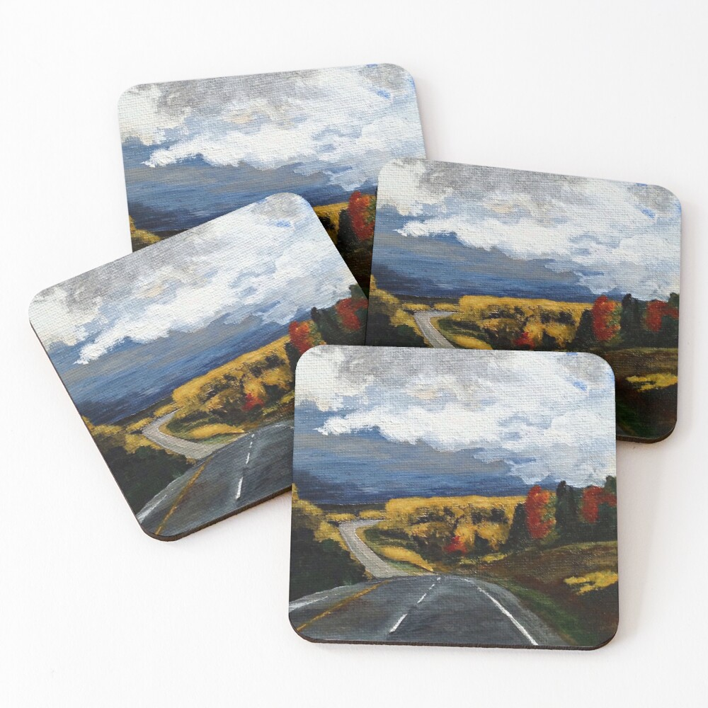 The Road Home Coasters (Set of 4)