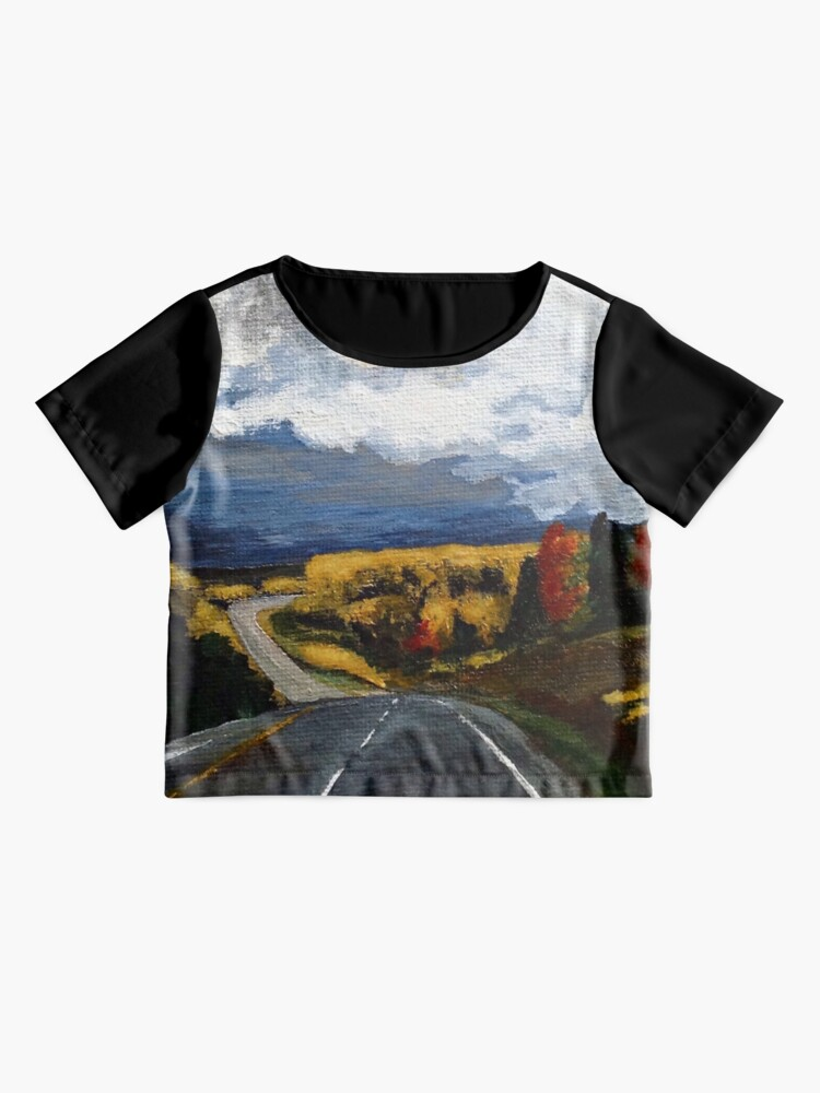 Alternate view of The Road Home Chiffon Top