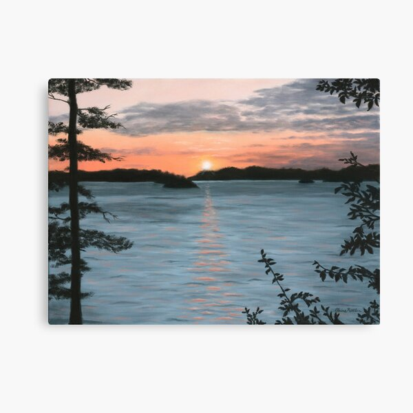 Islands Sunset Canvas Print