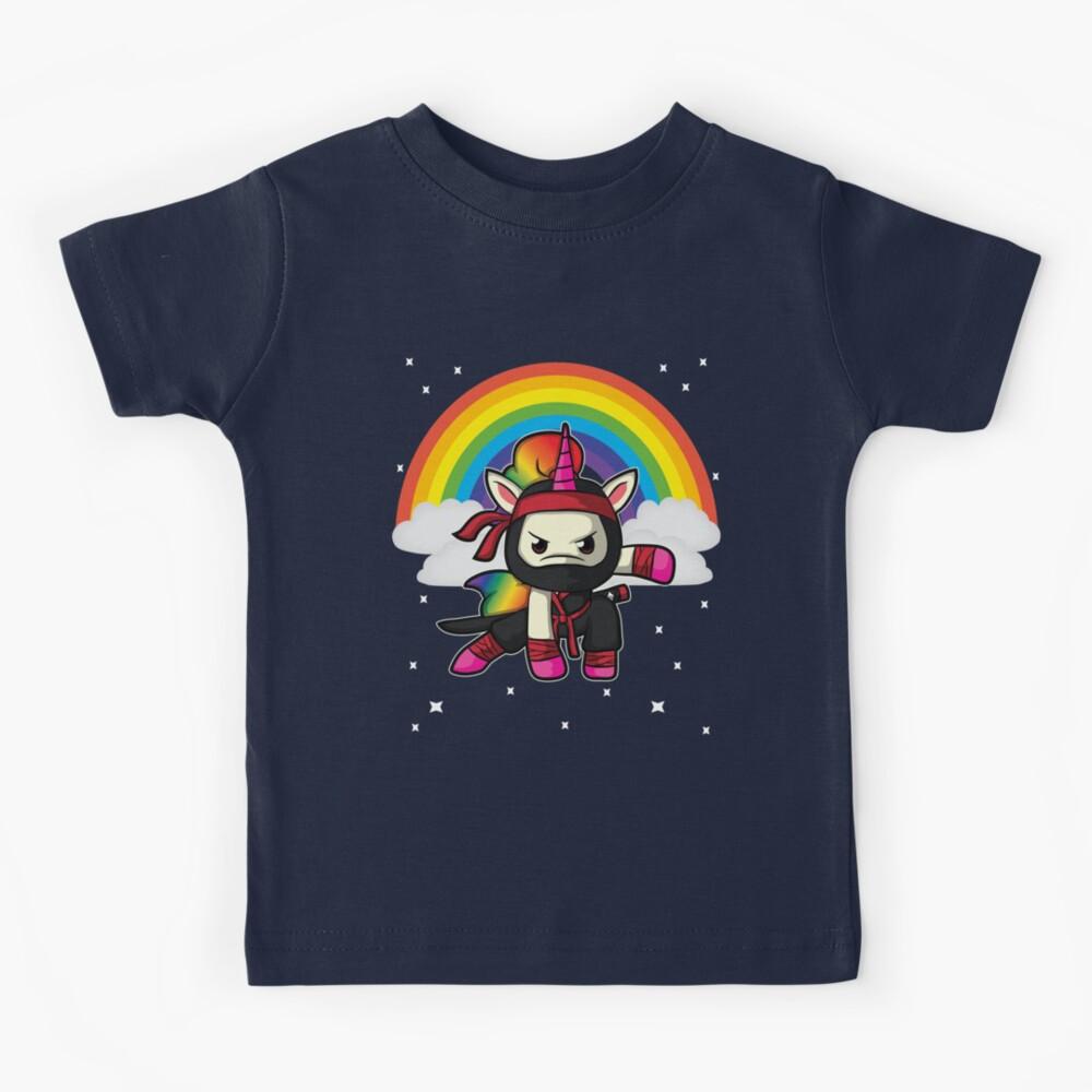 Funny Unicorn Ninja Gift Kids T-Shirt