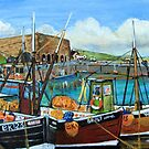 Seahouses' Harbour  by Woodie