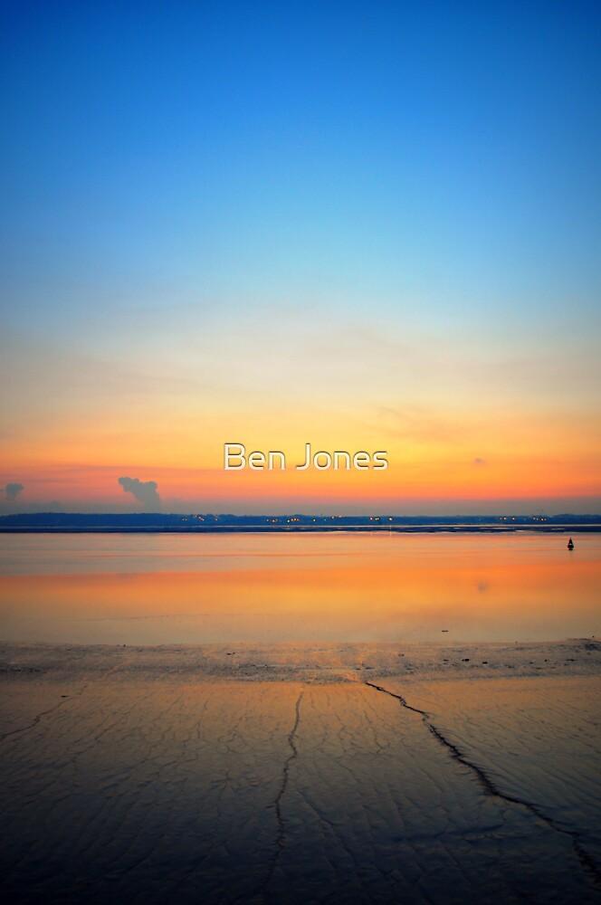 Quot Sunset Sky Portrait Quot By Ben Jones Redbubble