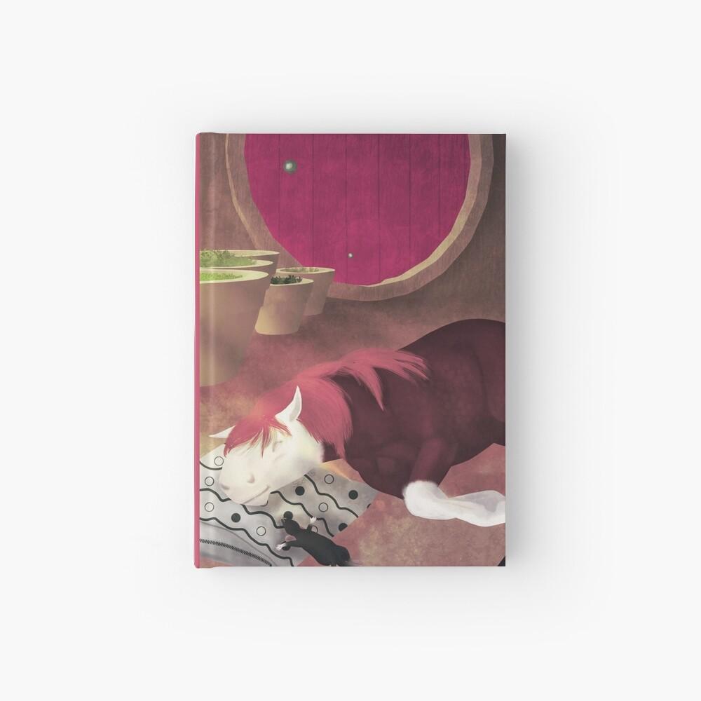 Carnet cartonné «L'heure de la sieste [Cheval][Rat]»