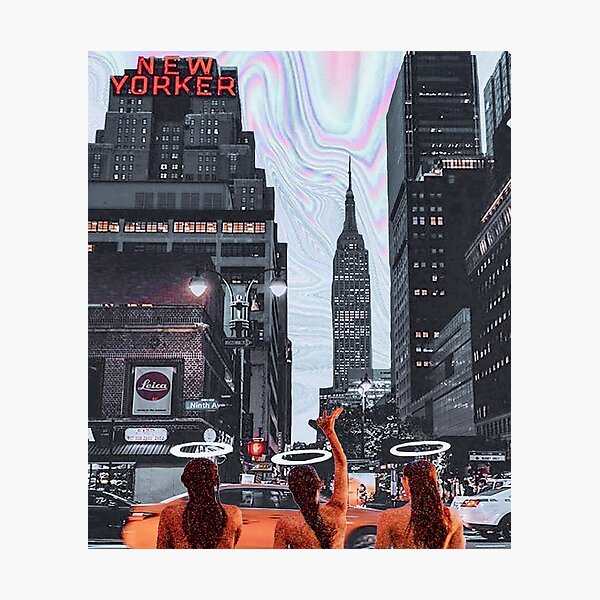 NEW YORK ANGELS Photographic Print