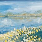 Serenity by the Water Oil Painting by LeisureLane1