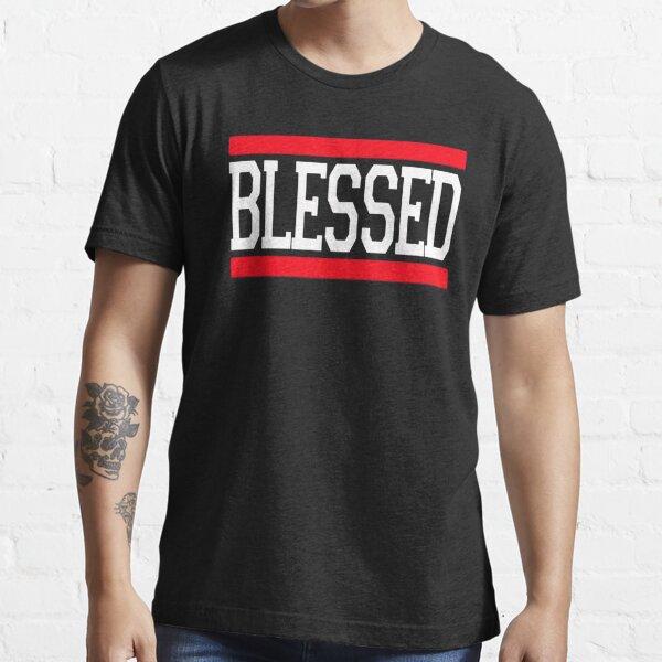 BLESSED JESUS GOD LOVE CHRISTIAN Essential T-Shirt