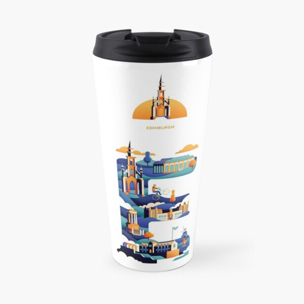 I love Edinburgh Travel Mug