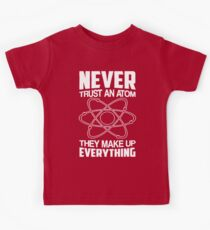 Humor Chemistry Science Kids Clothes