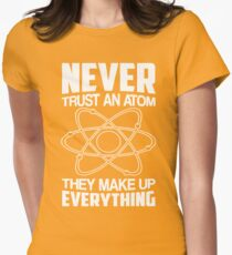 Humor Chemistry Science Womens Fitted T-Shirt