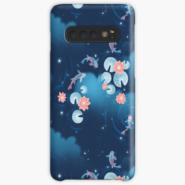 Koi pond - night Samsung Galaxy Snap Case