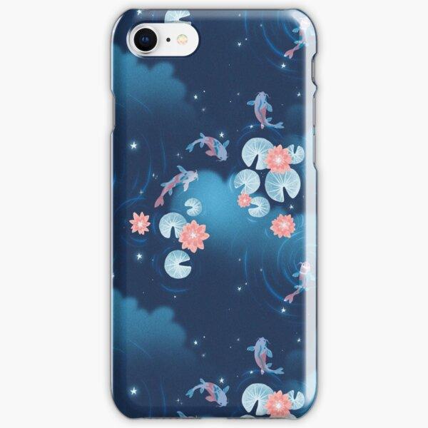 Koi pond - night iPhone Snap Case