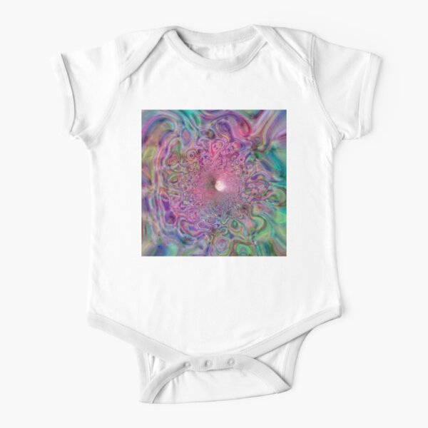 Mathematical Tempest 1 Short Sleeve Baby One-Piece