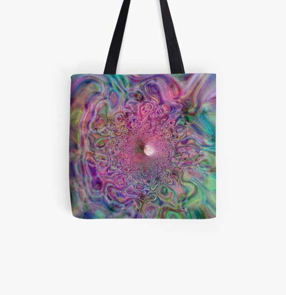 Mathematical Tempest 1 All Over Print Tote Bag