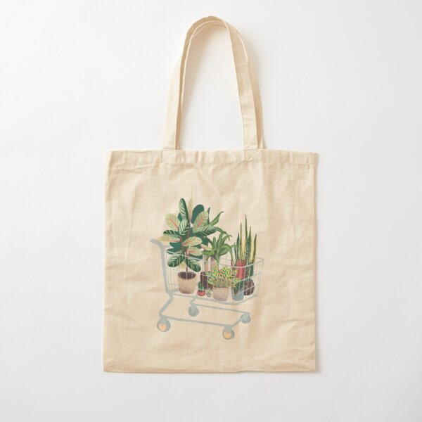 Plant friends Cotton Tote Bag