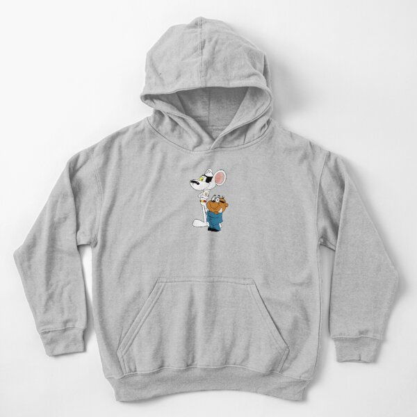 Danger Mouse and Penfold Kids Pullover Hoodie
