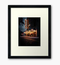 the tempest at tampa theatre Framed Print