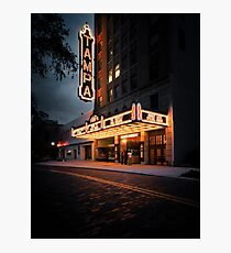 the tempest at tampa theatre Photographic Print
