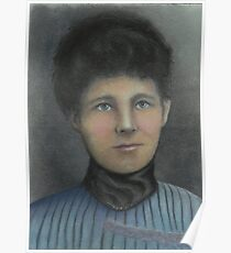Victorian Era Lady Poster