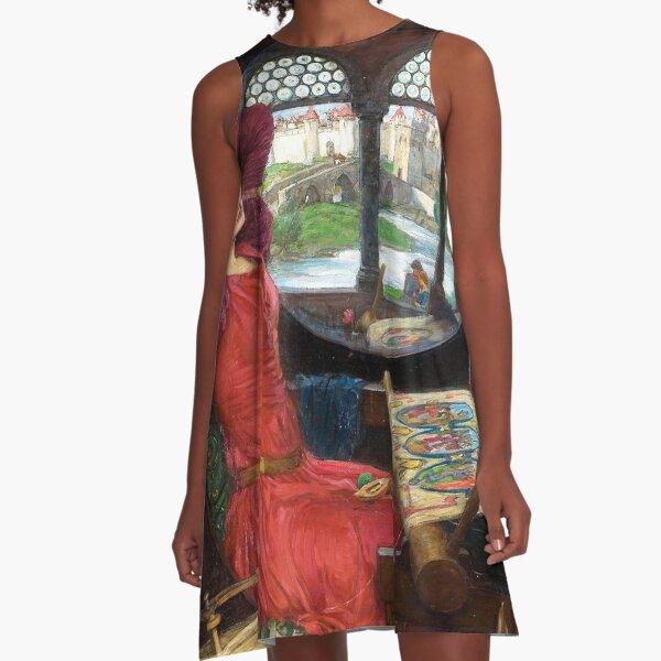 I Am Half Sick of Shadows, Said the Lady of Shalott - John William Waterhouse A-Line Dress