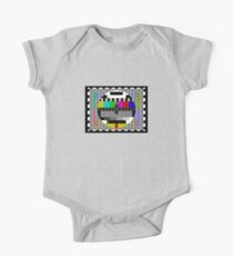 TV Test Pattern T-shirt Kids Clothes