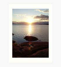 """Coastal serenity"" Art Print"