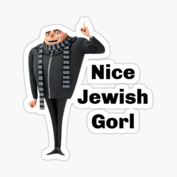Nice Jewish Gorl Sticker