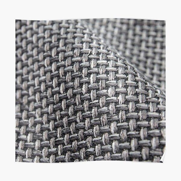 #Pattern, #weaving, #fiber, #rough, design, abstract, net, wool, canvas, craft, cotton, textile Poster