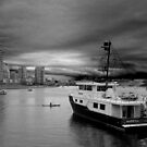 Storm over False Creek by Linda Sparks