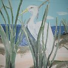Egret by Wendy Crouch