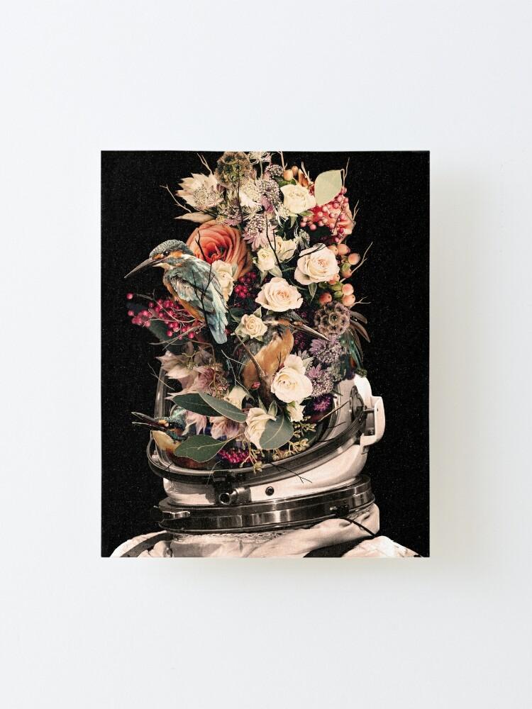 Alternate view of Bloom Mounted Print