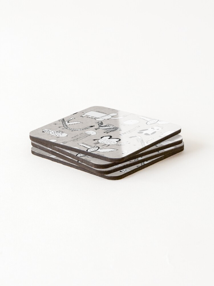 Alternate view of Baby Zoo  Coasters (Set of 4)