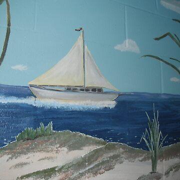 Sailboat by Aryahvayu