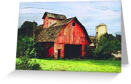 Beware, Abandoned Barns by Nadya Johnson