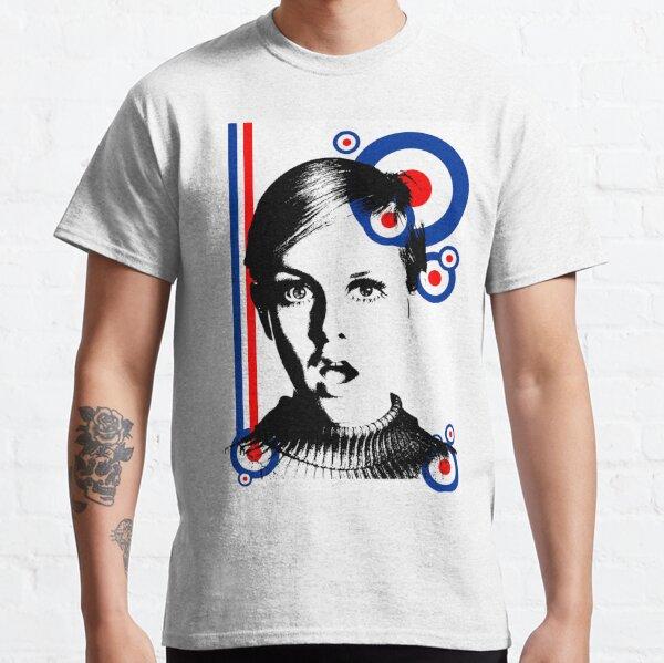 mod girl twiggy Classic T-Shirt