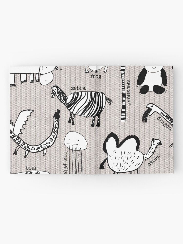 Alternate view of Baby Zoo  Hardcover Journal