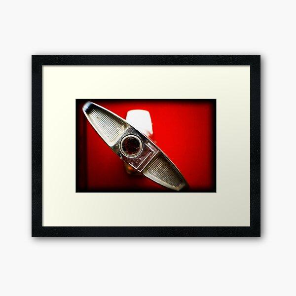 RED HANDLE Framed Art Print