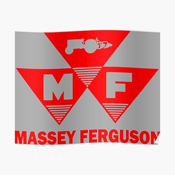 Massey Ferguson agricole Poster